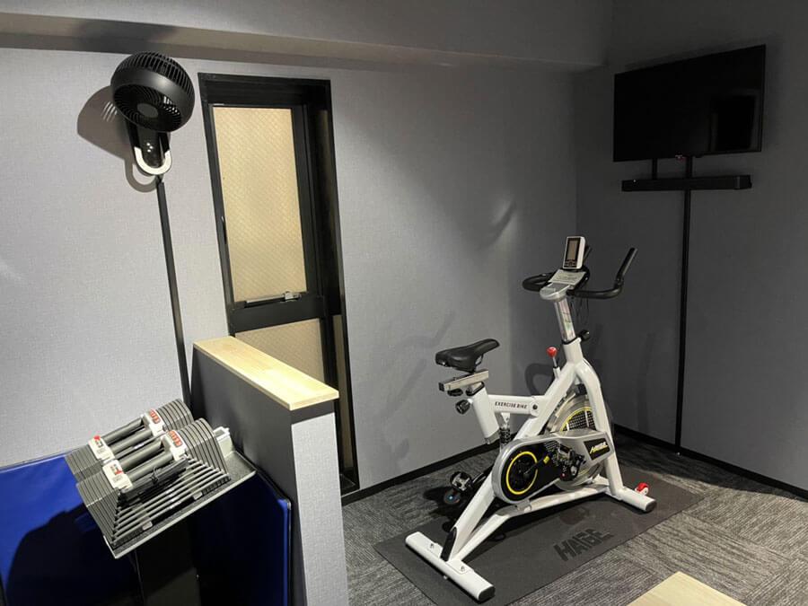 酸素運動も可能!HAIGE社スピンバイク